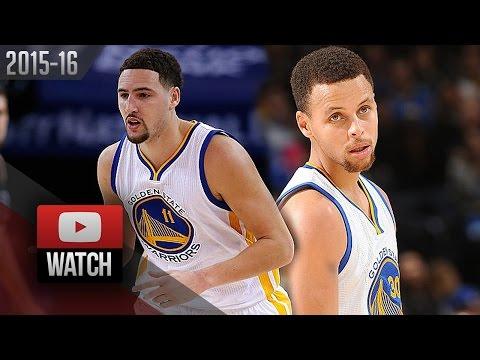 Stephen Curry & Klay Thompson Full Highlights vs Bucks (2015.12.18) - SPLASH BROS!