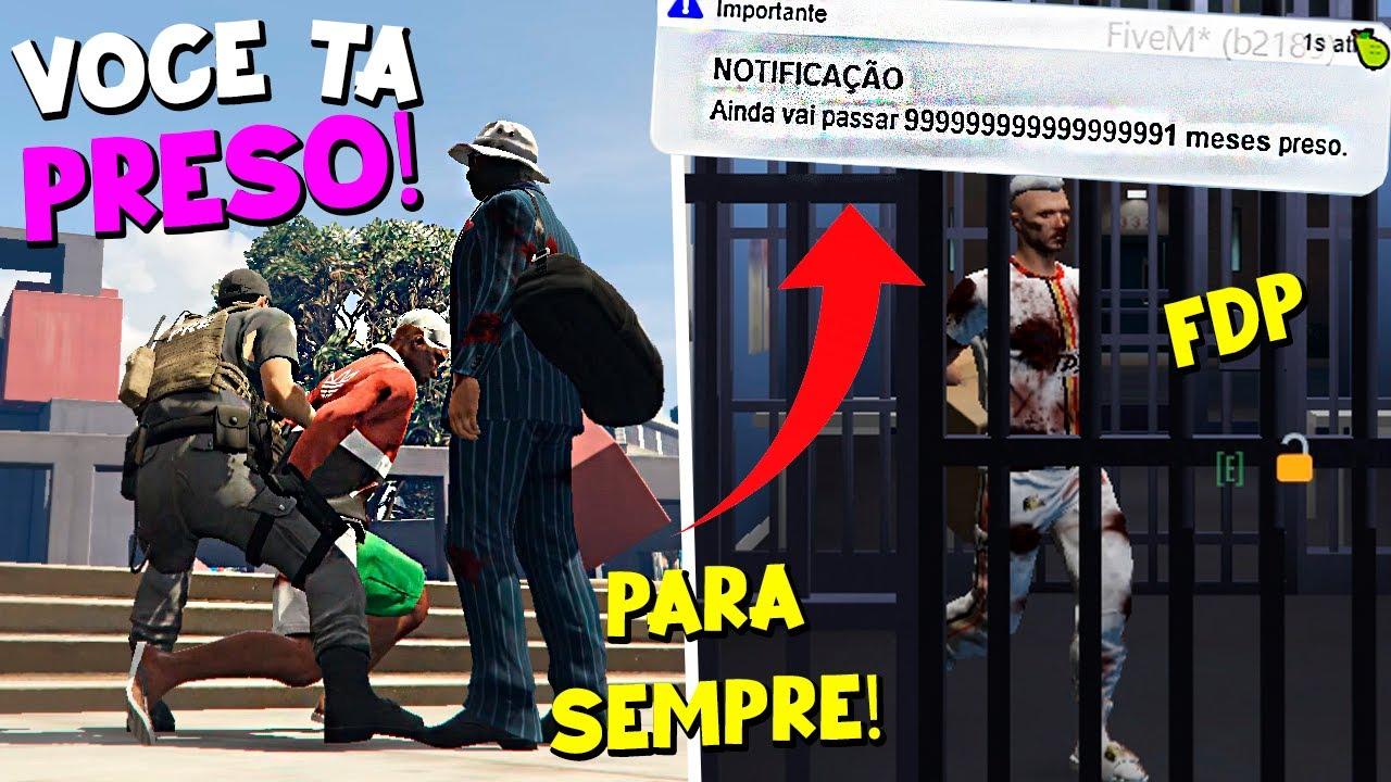PRENDENDO JOGADORES por TEMPO ABSURDO - GTA RP