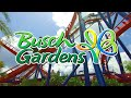 Busch Gardens 2019 Tampa, Florida | Full Complete Walkthrough Tour