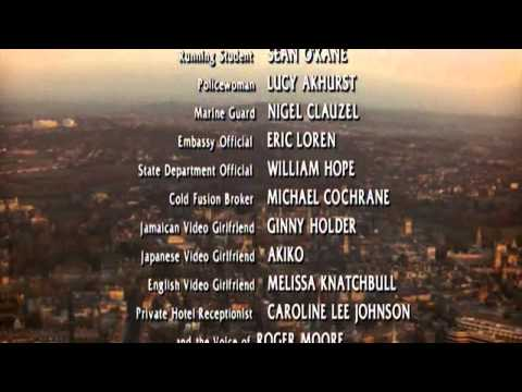 The Saint (1997) - Ending scene and credits