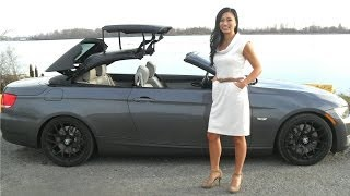 Video How to Open a BMW 335 Convertible Hardtop Roof (shows trunk space too) download MP3, 3GP, MP4, WEBM, AVI, FLV Juli 2018