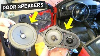 HOW TO REMOVE AND REPLACE FRONT DOOR SPEAKER ON BMW E46