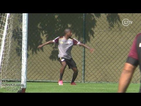 Reforço marca golaço de voleio em primeiro treino no São Paulo