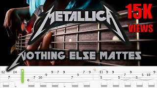 Nothing Else Matters Solo Bass Arrangement (Official Bass Tabs)