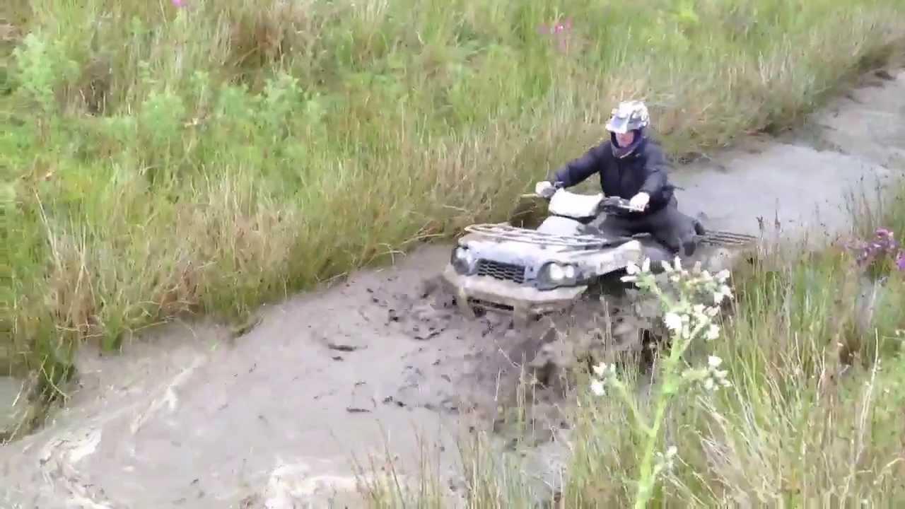 Yamaha Grizzly  Vs Kawasaki Brute Force
