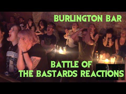 GAME OF THRONES Reactions at Burlington Bar /// Battle of the Bastards Pt 2  \\\