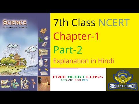 7th Class Science Chapter-1 (Part 2) NCERT English Medium , Surbhi Ka Gurukul
