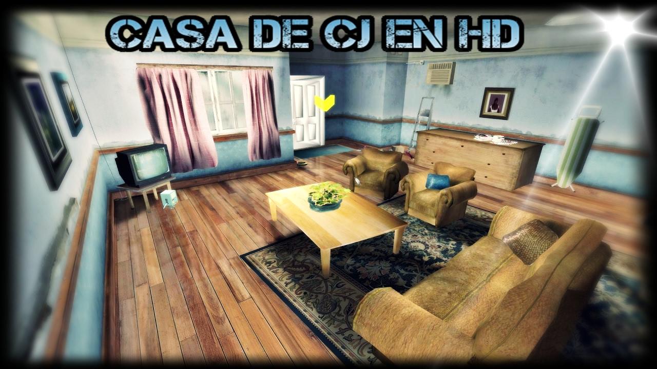 Gta sa casa de cj insanity 2017 youtube for Casa moderna gta sa