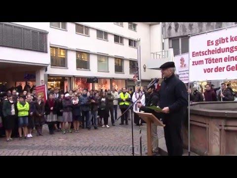 Ansprache von Martin Hohmann auf dem Gebetszug für das ungeborene Leben in Freiburg am 1.4.2016