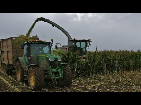 Muddy Maize 2017 - John deere, Fendt Claas, JCB