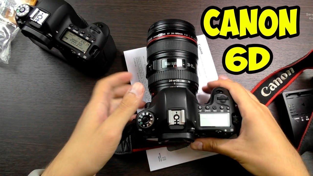 Обзор Canon EOS 1100D - YouTube