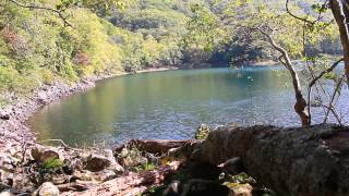 ハート形の湖「豊似湖」 @北海道えりも町 Erimo Lake Toyoni, Hokkaido