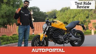 Ducati Monster 821 - Road Test Review - Autoportal