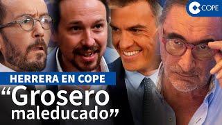 """Herrera desarma a Iglesias y su """"pandilla basura"""""""