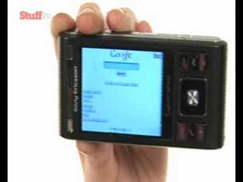 Sony Ericsson Cybershot C905 video review - from Stuff.tv