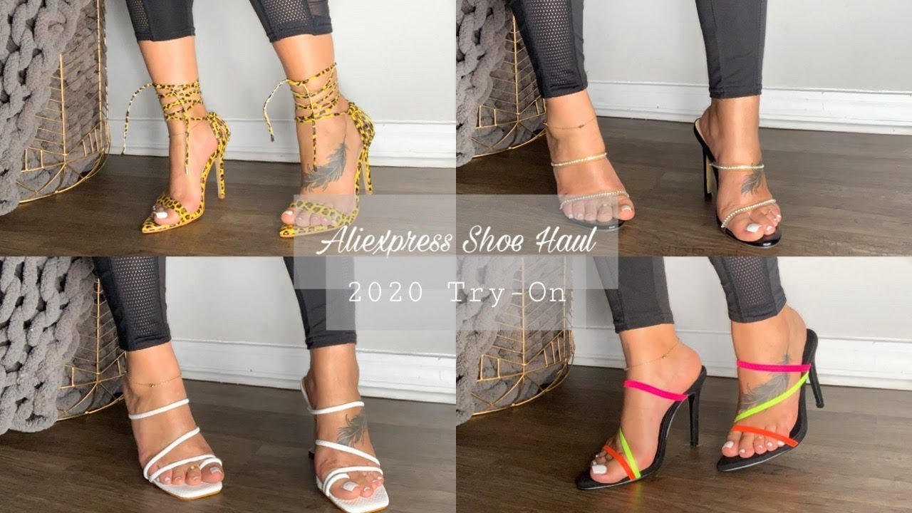 Affordable Aliexpress Shoe Haul 2020 | OhhThatsMo