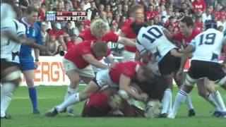 Rugby Union 2007, Wales vs Fiji at Nantes part 7.