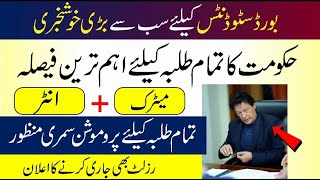 Board Meeting Final Decision 2020 | Promotion News 2020 | Summer Vacations 2020 | Special Exams 2020