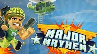 Major Mayhem Android App Review and Gameplay