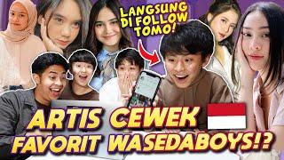 Download lagu REAKSI WASEDABOYS LIAT YOUTUBER & INFLUENCER CEWEK INDONESIA! pt.4