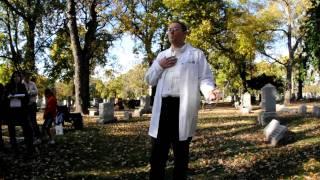 2010-OakParkRiverForestHistorical-Cemetery-Walk-Dr-Bernard-Fantus-BloodBank-Oct-17th- 076.AVI