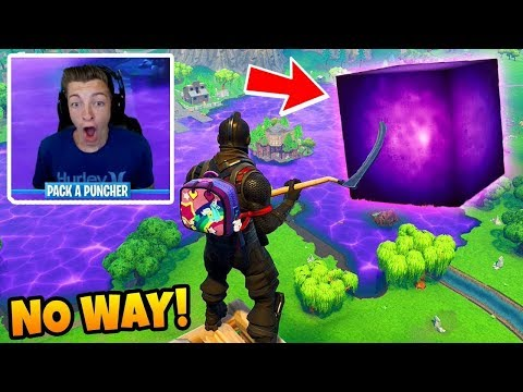 FORTNITE CUBE VOLCANO EVENT IS FAKE??? Loot Lake Watching + Theories! Fortnite