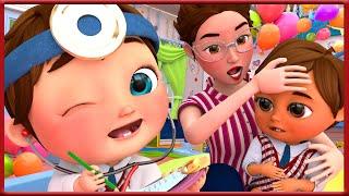 ???? Yes Yes Doctor Checkup Song - Banana Cartoon [HD]