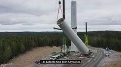 Valhalla wind farm - Construction update autumn 2019