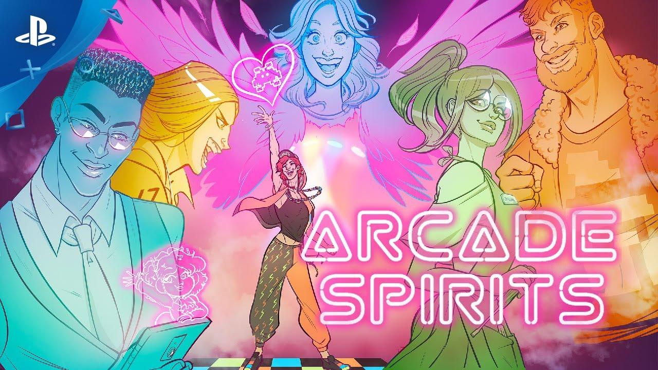 Arcade Spirits - Release Date Announcement   PS4