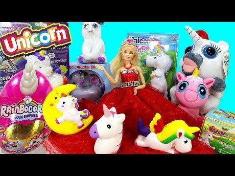 Abriendo Juguetes de Unicornios | Barbie