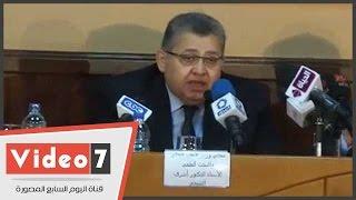 وزير التعليم العالى: الإعلام يقود 2 ونص مليون طالب بالجامعات