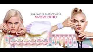 New! Gel paints and EMPASTA Sport chic