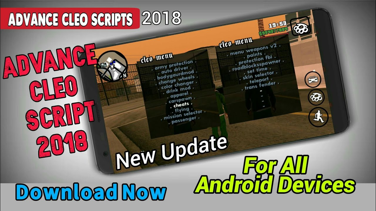 Advance Cleo Scripts 2018|New Cleo Script 2018|Full Advance Cleo Scripts New Update for Android