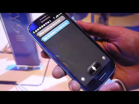 Galaxy S III: S Voice demo