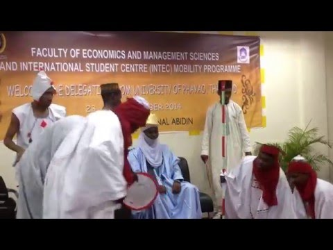 Nigerian Students in Malaysia Staging a Drama