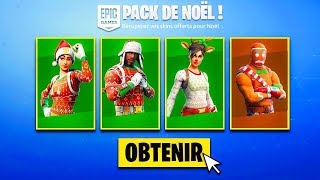 THE SKINS OF NOEL RERE ON FORTNITE BATTLE ROYAL !!!