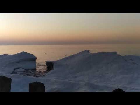 Побережье Балтийского моря. Светлогорск. Февраль 2021