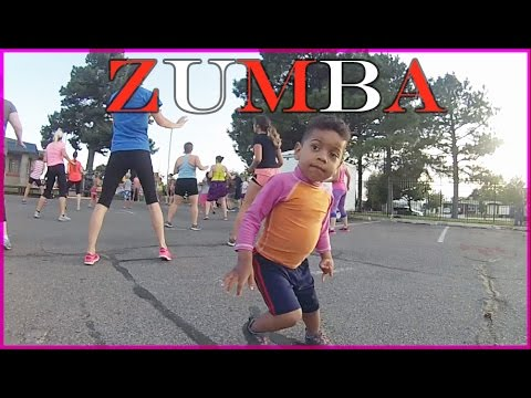 FAMILY FUN Outdoor activities for kids, Zumba dance, dancing video with toddlers!