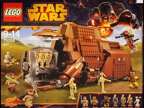 Lego star wars 75058 mtt official images youtube - Croiseur interstellaire star wars lego ...
