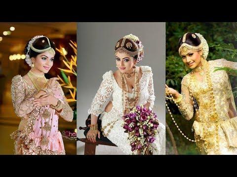 Exclusive Sri Langkan Bridal Saree Designs