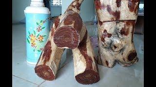 Gambar cover Gốc Gỗ Sưa Bắc hàng hiếm 25kg giá 23tr gỗ gần 30 năm tuổi