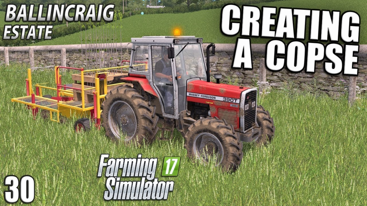 PLANTING A COPSE  - Ballincraig Estate | Farming Simulator 17 - Episode 30 #1