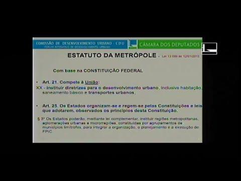 DESENVOLVIMENTO URBANO  - Fórum Interativo de Desenvolvimento Urbano  - 16/05/2018 - 08:21