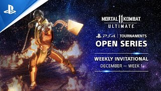 Mortal Kombat 11 : Weekly Invitationals NA : PS4 Tournaments Open Series