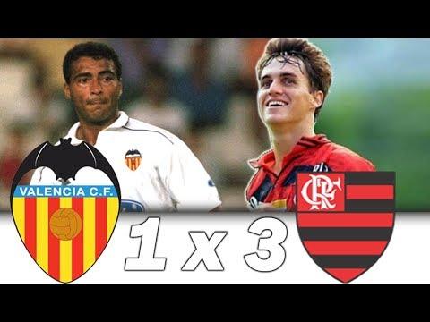 Romário vs Sávio * Valencia 1 x 3 Flamengo * Troféu Naranja 1997