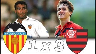 Valencia 1 x 3 Flamengo | Romário vs Sávio | Troféu Naranja 1997