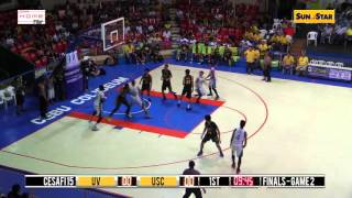 REPLAY: USC Warriors vs. UV Green Lancers - Finals Game 2 - 10/13/15