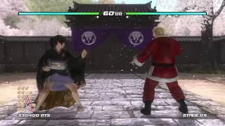 【PS4】生死格鬥5LR  DEAD OR ALIVE 5 Last Round KOKORO 黑色和服 1080P