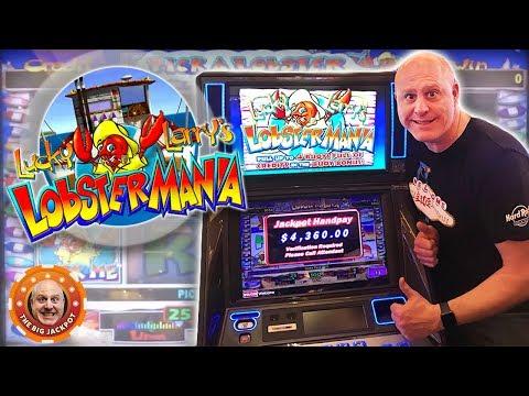 ✦ JACKPOT MANIA! ✦ 4 Lucky Larry LobsterMania Hits In 10 Min! 🎰| The Big Jackpot