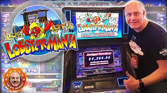 ✦ JACKPOT MANIA! ✦ 4 Lucky Larry LobsterMania Hits in 10 Min! 🎰| The Big Jackpot